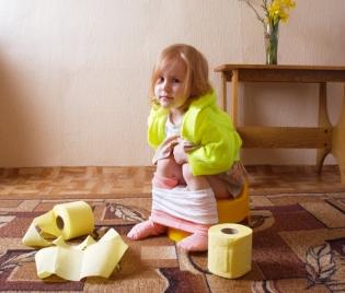 Запекът при децата - причини и решения - грип