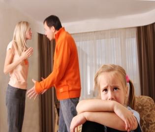 Раздялата на родителите е най-травмираща за децата
